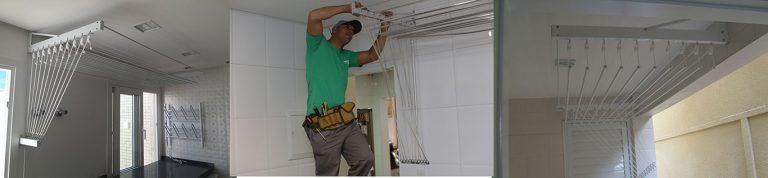 Veja como colocar varal de teto corretamente (simples e rápido)